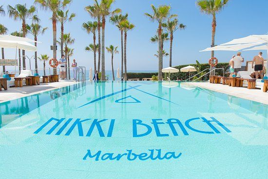 nikki beach marbella - Best Beaches near Puerto Banus