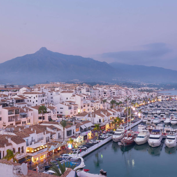 the best views in Puerto Banus