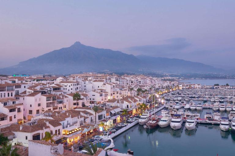 the best views in Puerto Banus