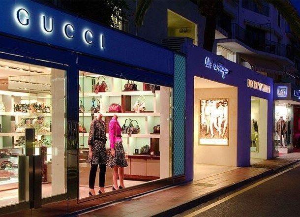 Boutiques de luxe à Puerto Banus